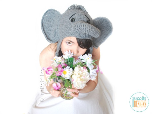 Elephant hat crochet pattern by IraRott