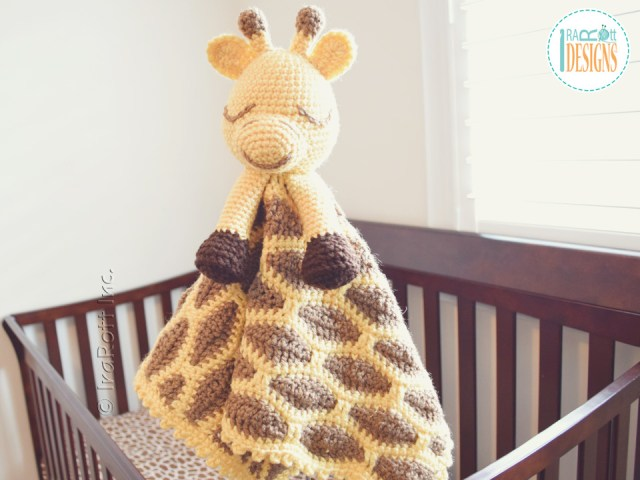 Rusty the Giraffe Security Blanket Patterns by IraRott