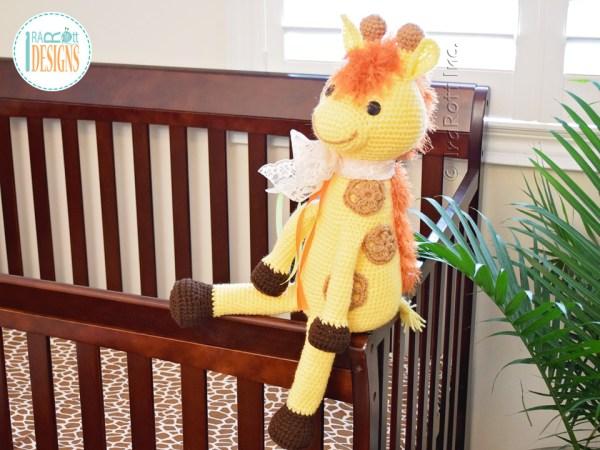 Rusty the Giraffe Amigurumi Crochet Pattern by IraRott