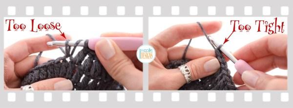 Crochet Gauge Fix - Dome Shape Dc Circle