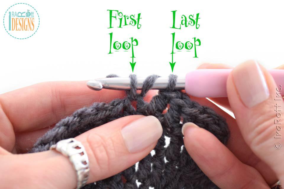 Crochet Gauge Fix Flat Circles Irarott Inc