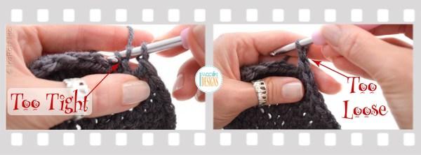 Crochet Gauge Fix - Ruffled Dc Circle