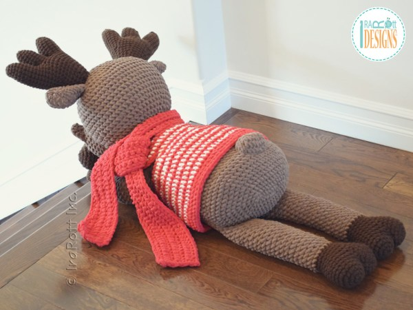 Big Moose Crochet Amigurumi Pattern by IraRott
