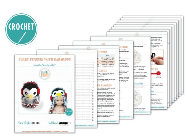 Furry Penguin Hat Pattern_by IraRott