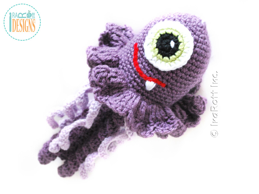 Crochet Jellyfish Monster