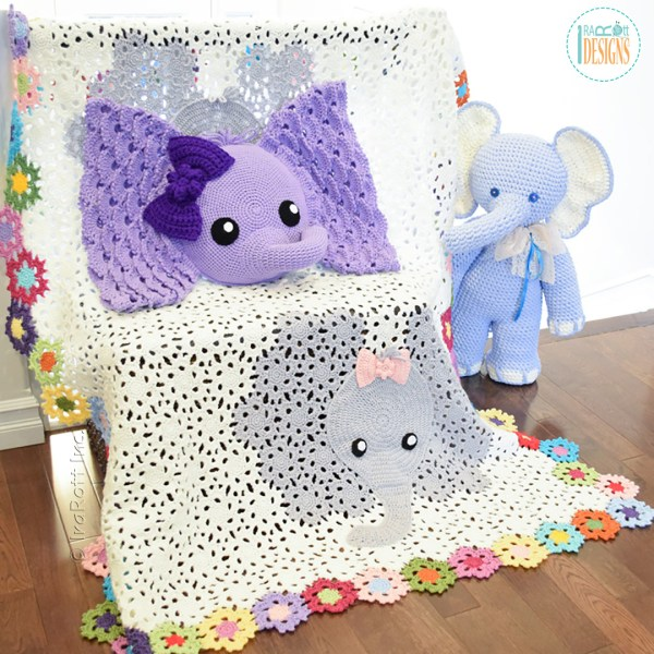 Elephant Crochet Patterns By IraRott