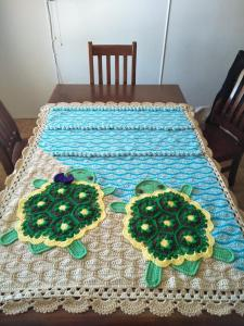 Crochet Turtle Blanket by Nikki Williams‎