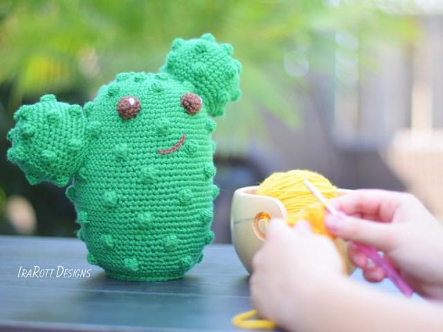 Cactus Amigurumi Pattern By IraRott 2