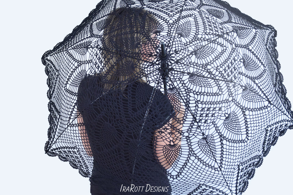 Crochet Lace Parasol By IraRott