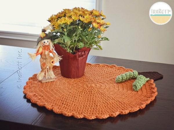 Crochet Pumpkin Autumn Home Decor