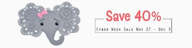 Black Friday Cyber Monday Pattern Sale by IraRott
