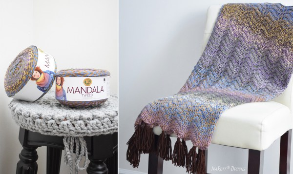 Lion Brand Mandala Tweed Yarn Review By Ira Rott