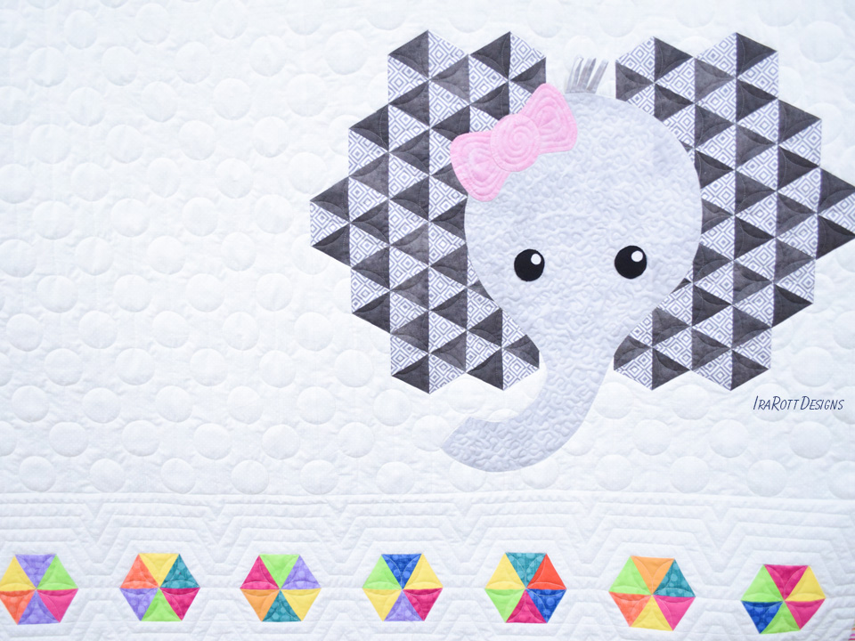 Josefina and Jeffery Elephant Quilt
