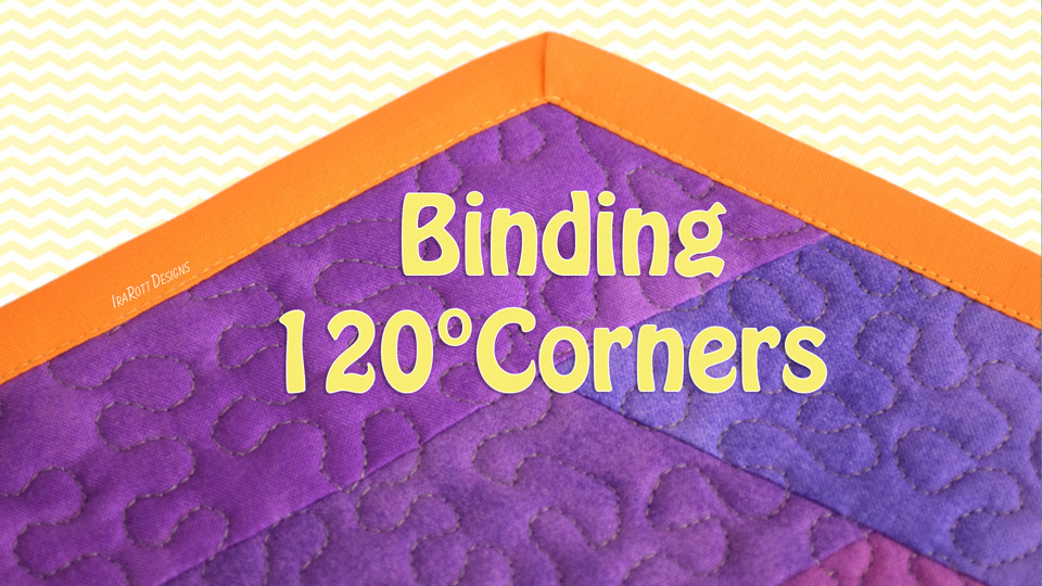 How To Bind 120 Degree Corners