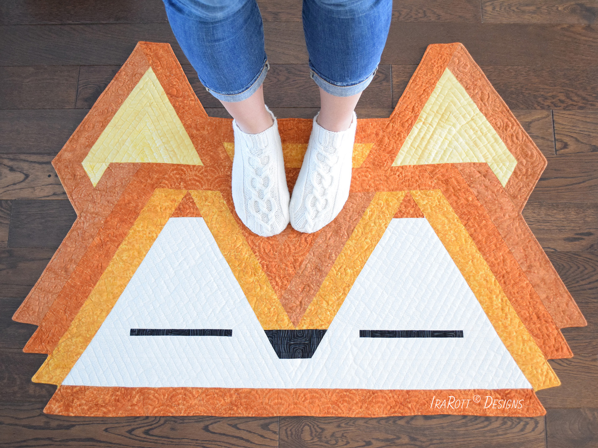 Jelly Roll Fox Rug By IraRott