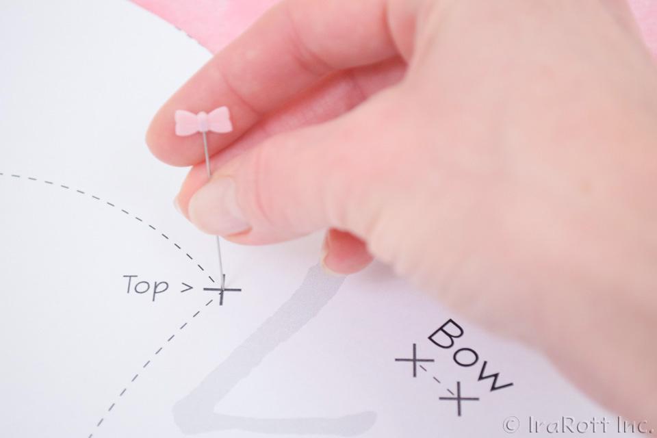 Transferring Pattern Markings Using Pins