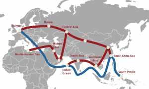 доставка грузов из Китая в Европу