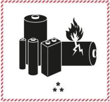 маркировка литиевых батарей при перевозке