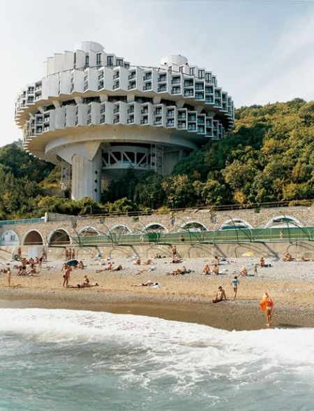 Druzhba Holiday Center Hall (Yalta, Ukraine, designed by Igor Vasilevsky 1984)© Frederic Chaubin