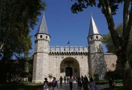 Entrance of the Topkapı Palace