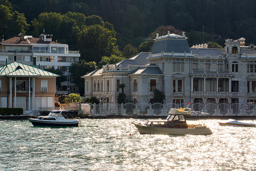 Egyptian Consulate building at Bebek bay of Istanbul