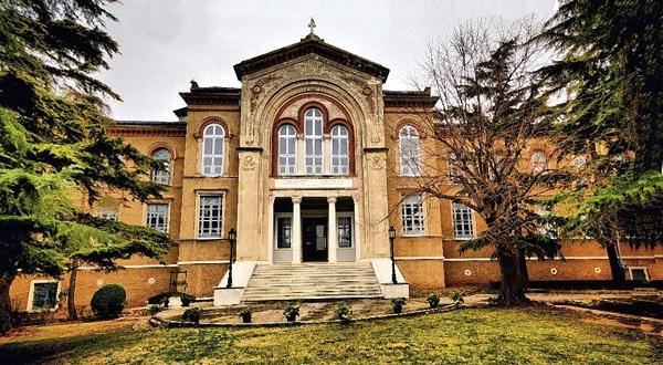 Heybeliada Halki Tehological School Library, Istanbul