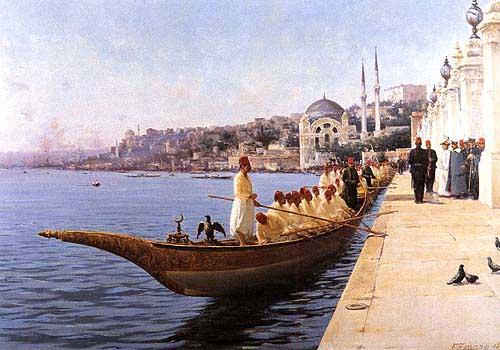 Imperial Caique, Dolmabahçe Palace