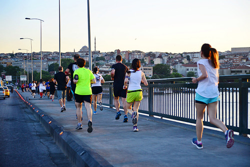 Run Force Istanbul runs every Thursday from 7:45pm to 9pm