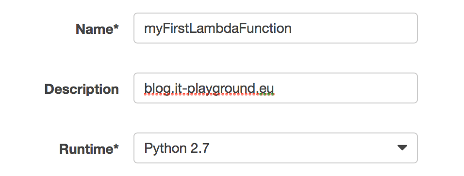 Import your Python application to Lambda
