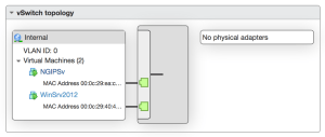 vSwitch1 Configuration