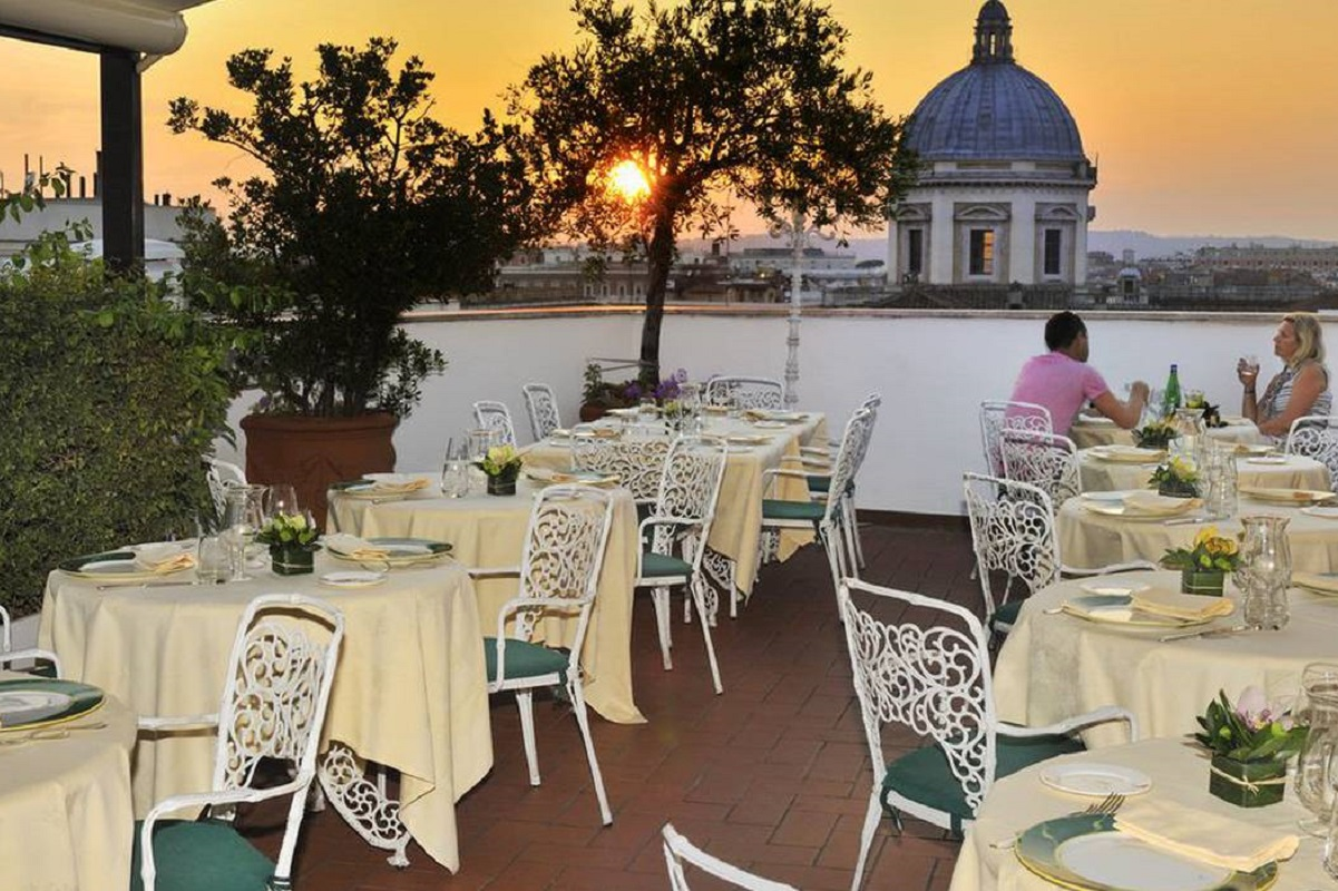 Ristoranti con terrazza a Roma eccone 5 da non perdere  Italoblog