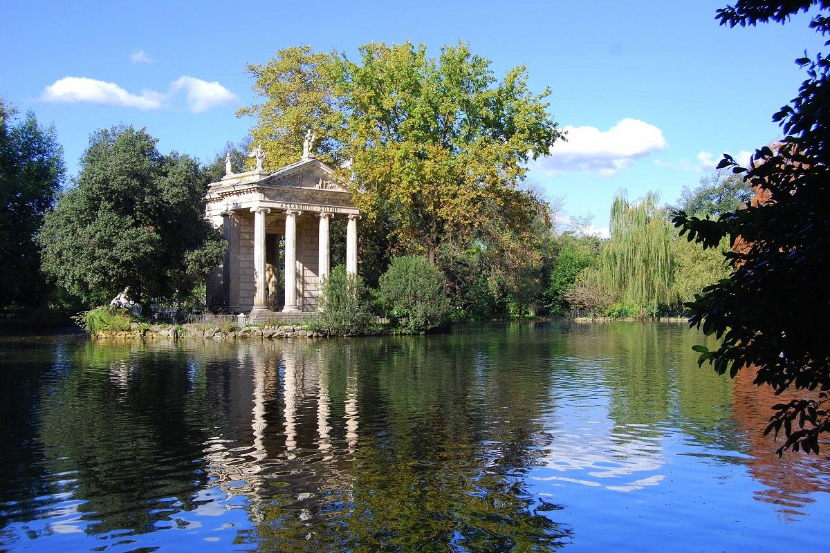 Visitare Villa Borghese tra terrazza del Pincio parco e