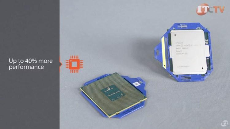 HPE server CPUs