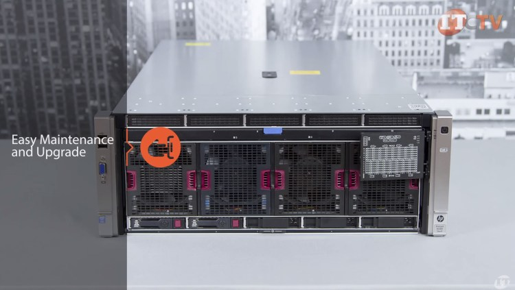 HPE ProLiant DL580 G9 rack server