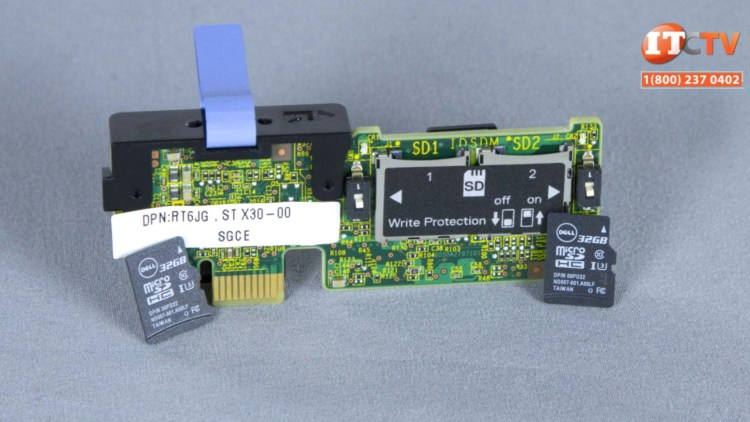 Integrated Dual SD Card Module (iDSDCM)