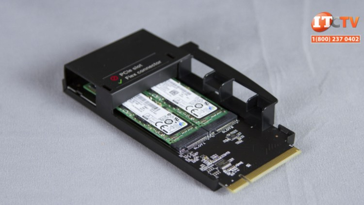 Lenovo ThinkStation P710 flex adapter module