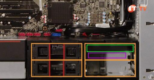 ThinkStation P720 Internal Drive Bays