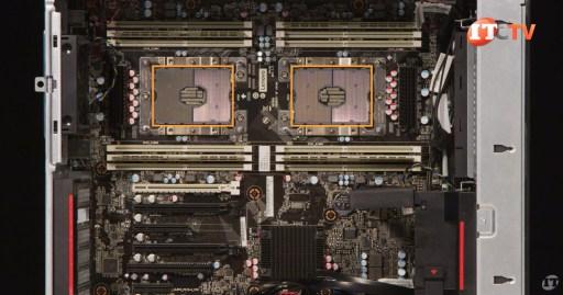 Lenovo P720 Workstation CPUs