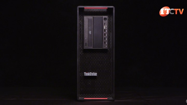 Lenovo ThinkStation P720 Workstation Front View