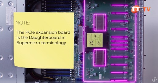 Supermicro PCIe Expansion Daughterboard