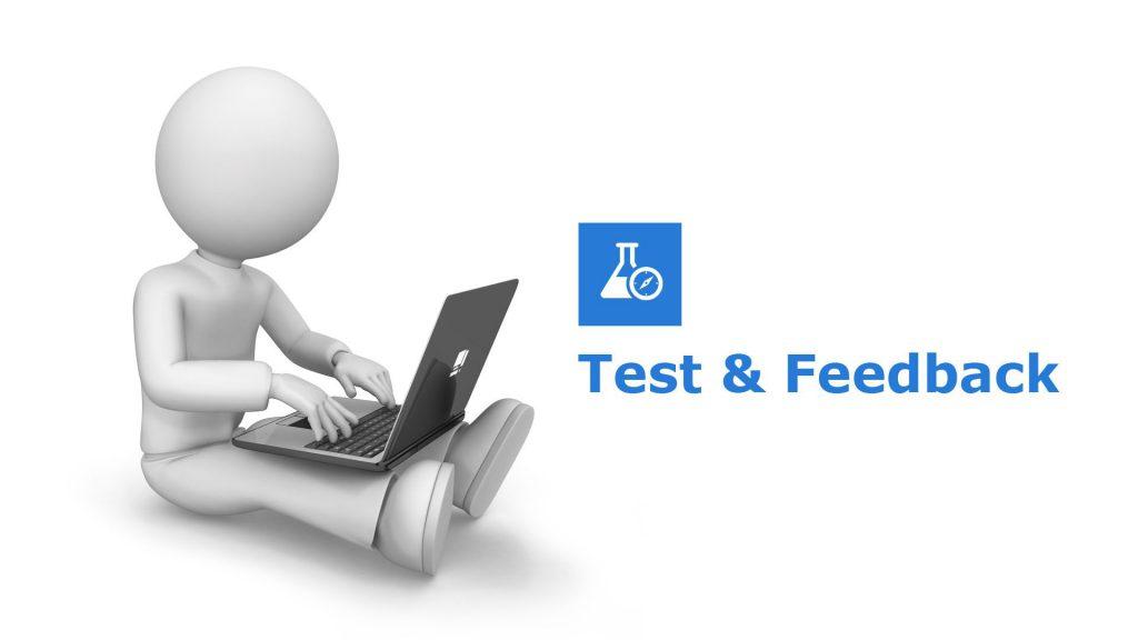 Test & Feedback