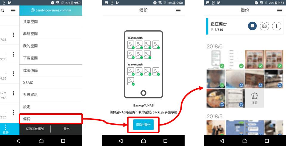 PowerCloud 備份 功能