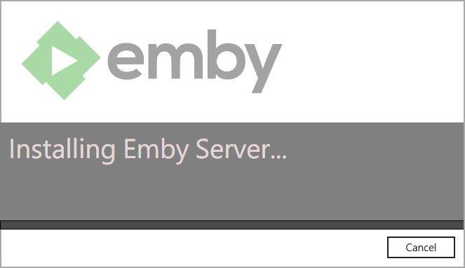 安裝emby