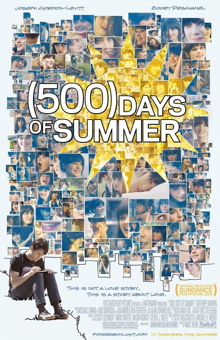 (500) Days of Summer movie poster (short film and movie news)