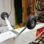 Dubro Wheels Mounted