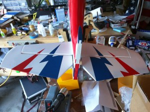 Empennage Partially Complete