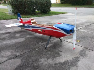 Sbach 342 With Rudder, Elevator, and Prop