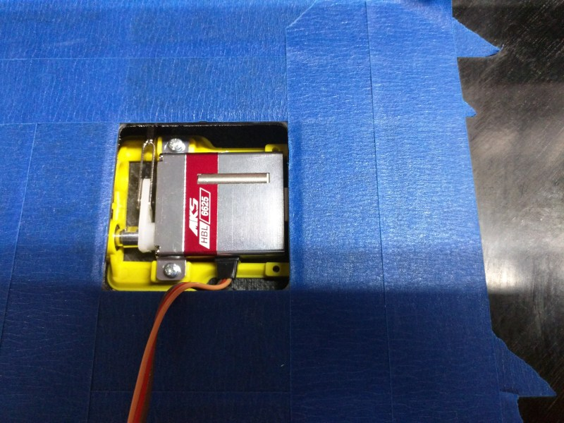 MKS HBL6625 Prepped in Xplorer Flap Bay