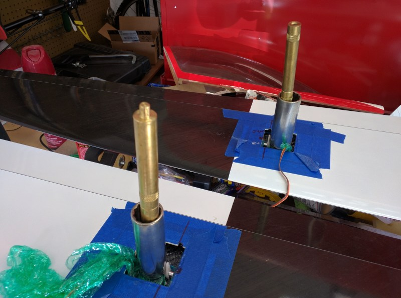 Weight Applied To Aileron Servos