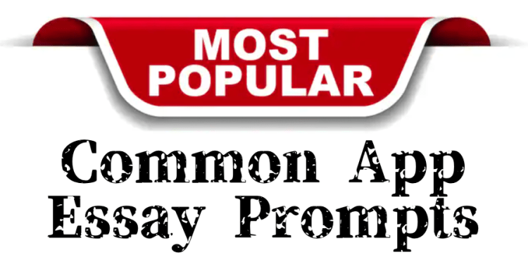most popular common app essay prompts